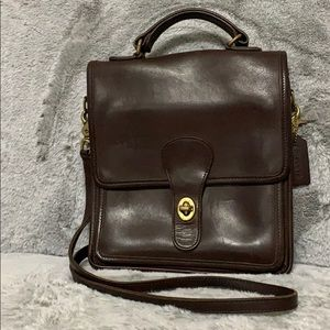 Coach Vintage Brown Leather Bag